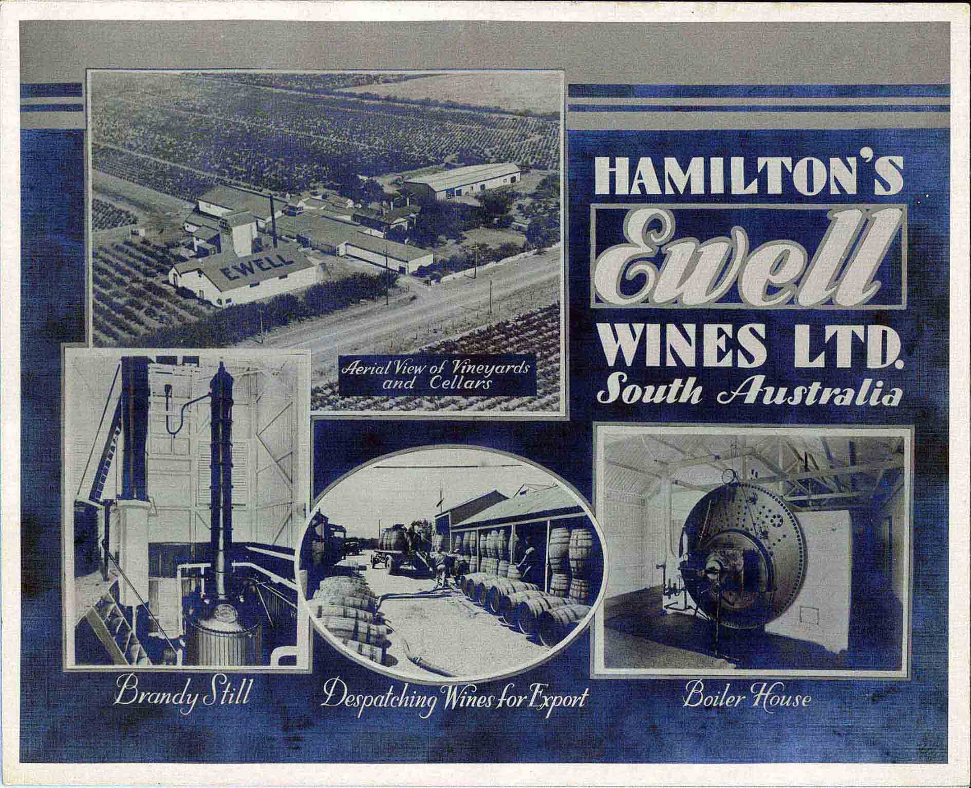 Hamiltons Marketing Montage 1960s