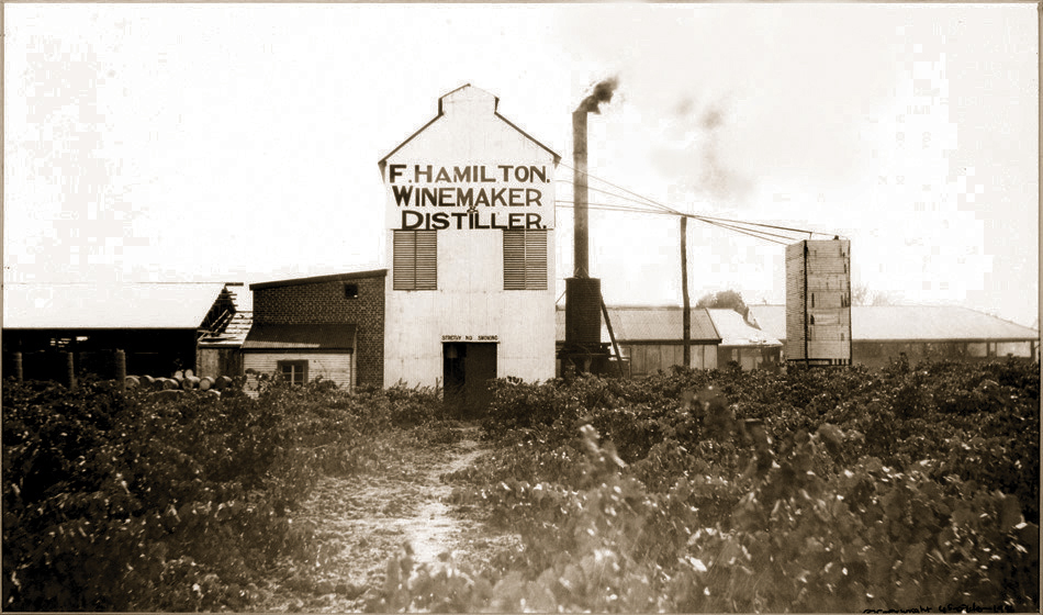Old WInery Front in Frank Hamiltons time