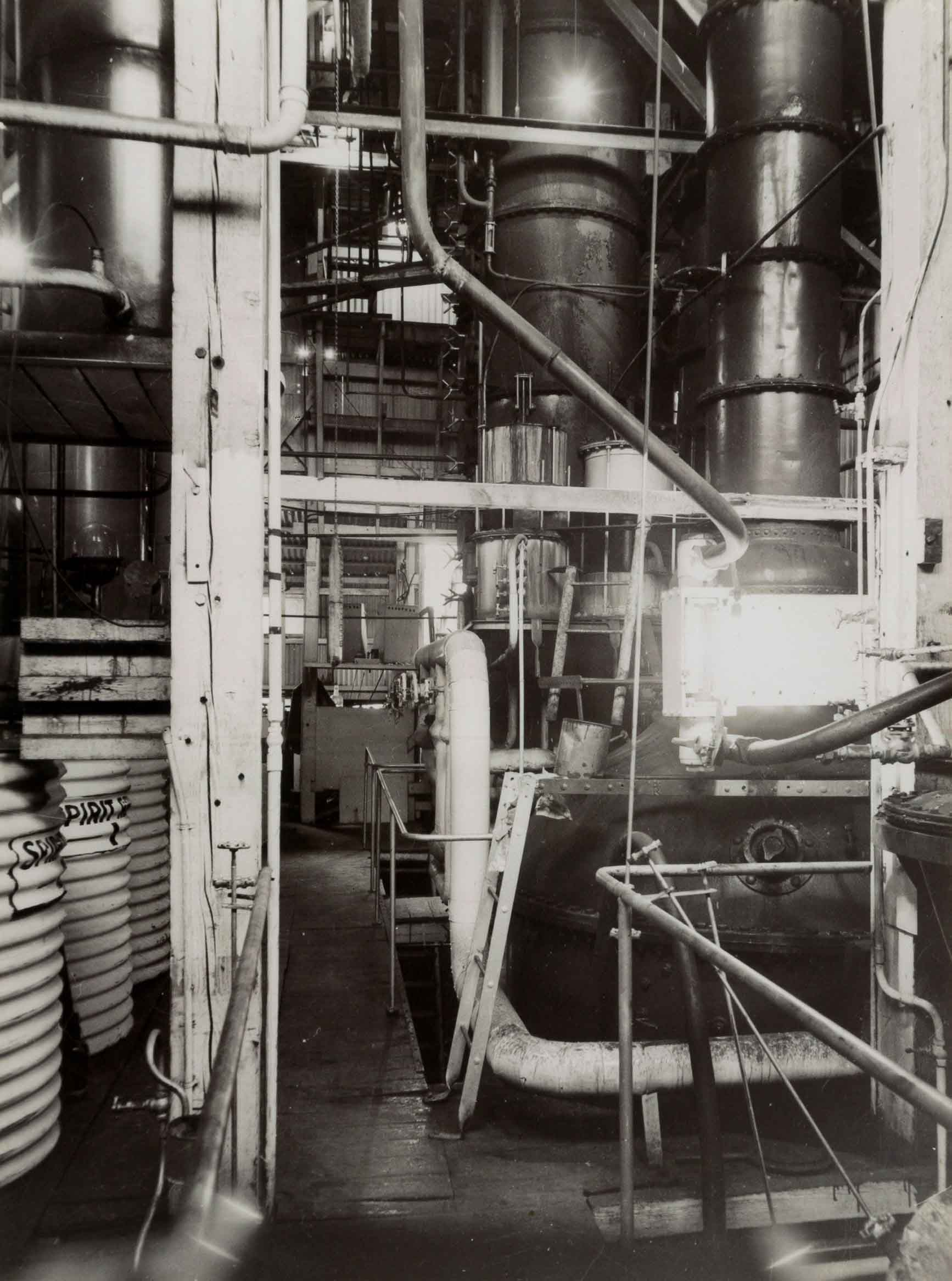 Pot Stills at Hamiltons Ewell 1960s
