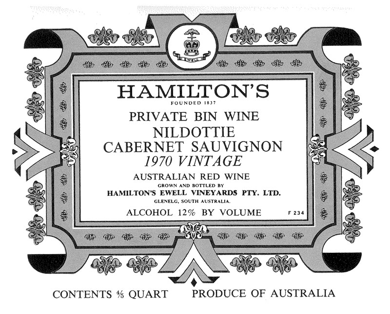 Hamilton-Private-Bin-Wine-Nildottie-Cab-Sav-1970